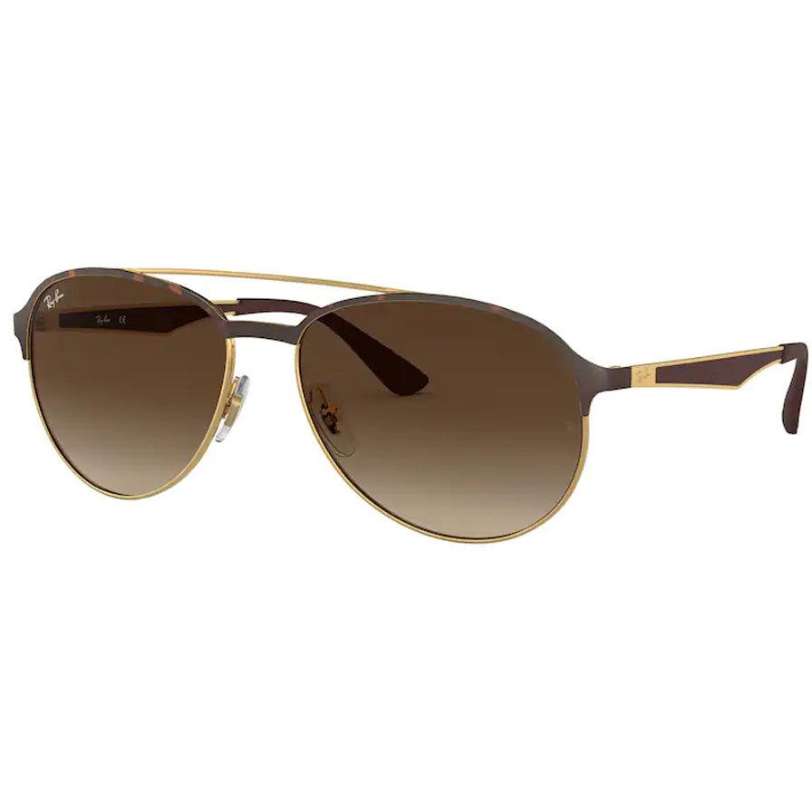 Ochelari de soare barbati Ray-Ban RB3606 912713 Pilot originali cu comanda online