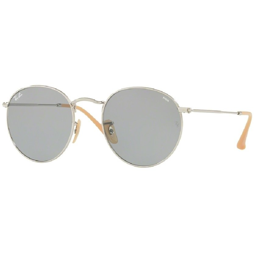 Ochelari de soare barbati Round Metal Ray-Ban RB3447 9065I5 Rotunzi originali cu comanda online