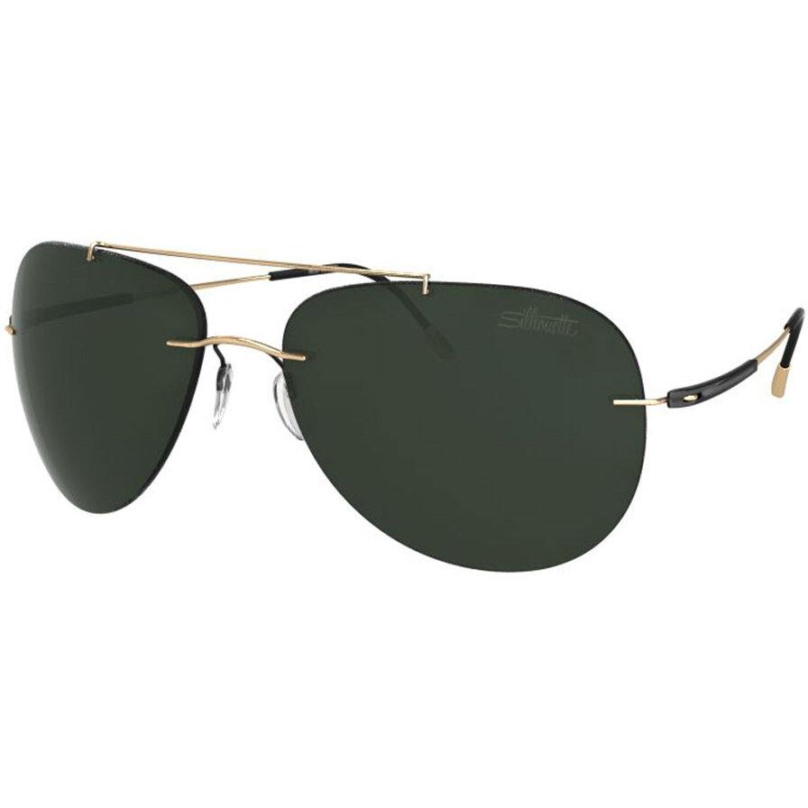 Ochelari de soare barbati Silhouette 8667/20 6205 Pilot originali cu comanda online