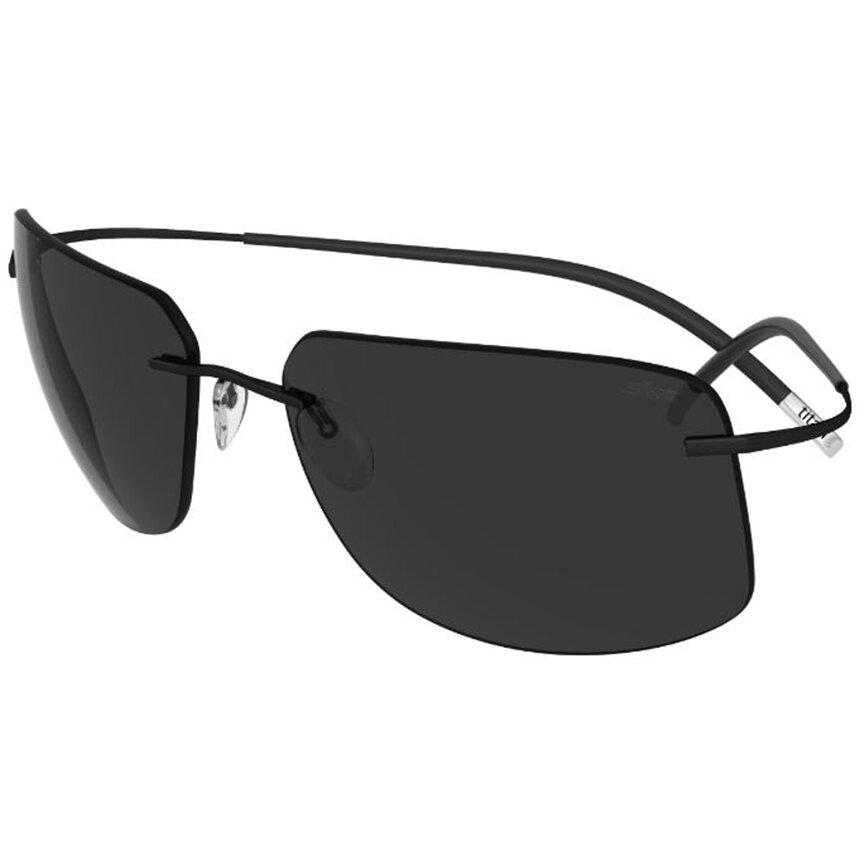 Ochelari de soare barbati Silhouette 8698/75 9040 Rectangulari originali cu comanda online