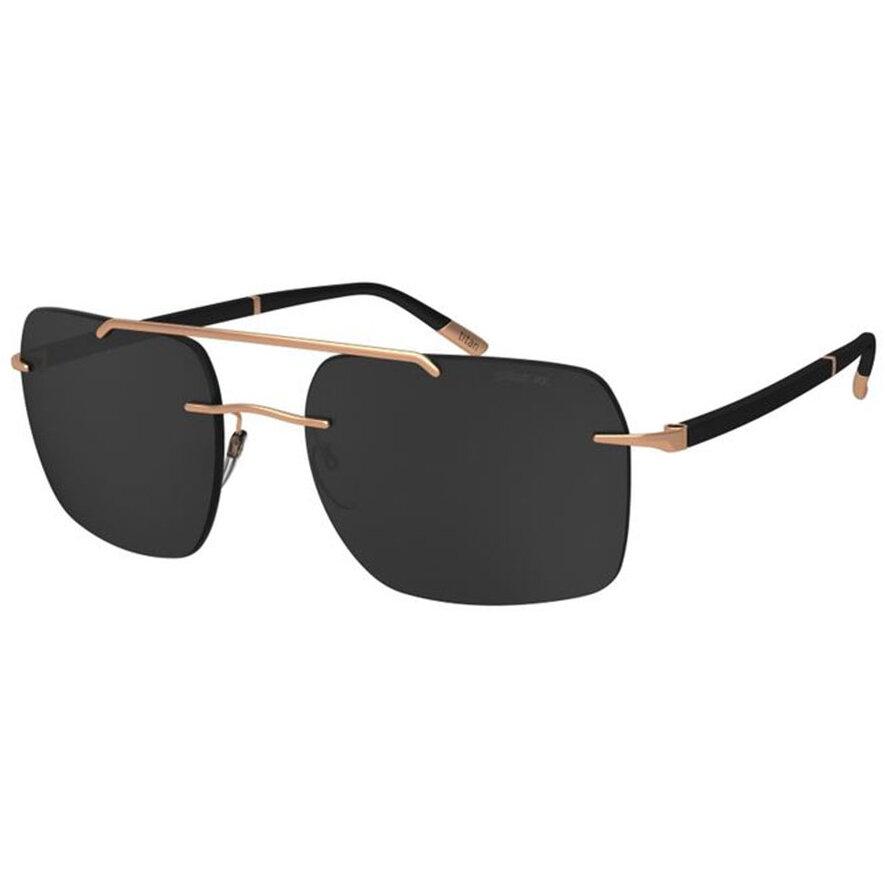 Ochelari de soare barbati Silhouette 8708/75 3520 Rectangulari originali cu comanda online