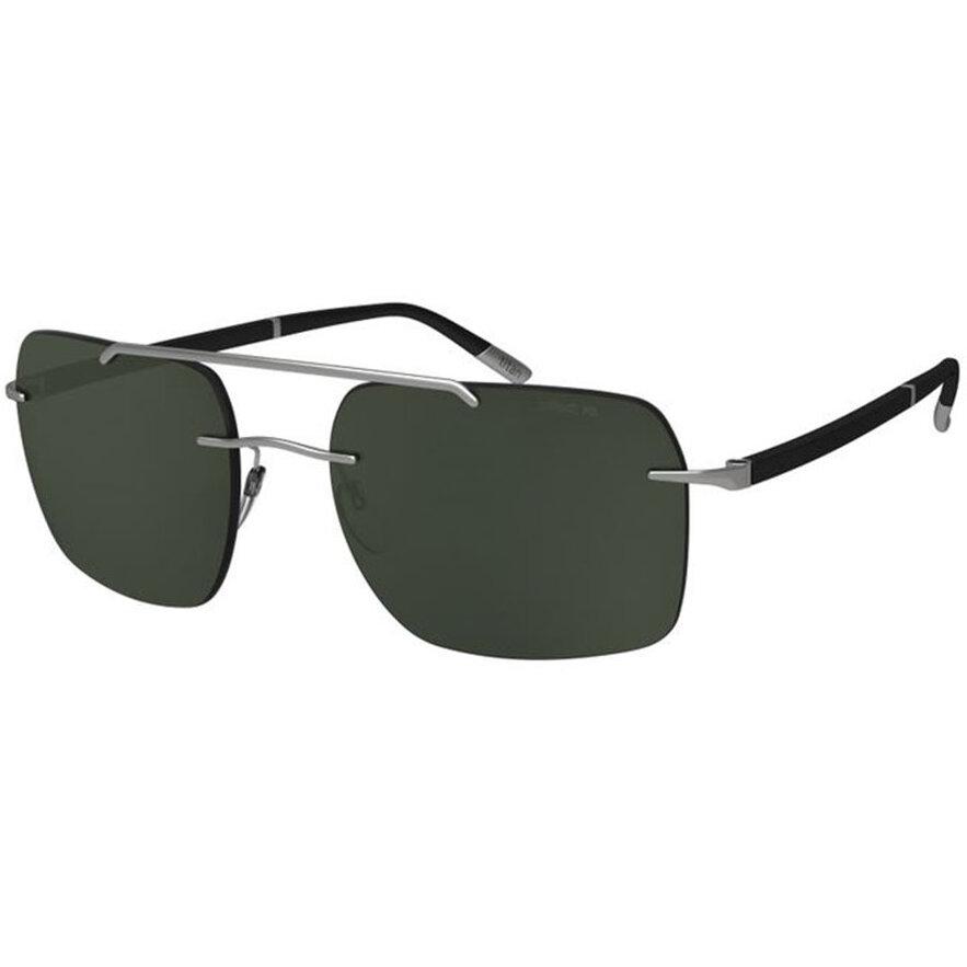 Ochelari de soare barbati Silhouette 8708/75 6560 Rectangulari originali cu comanda online