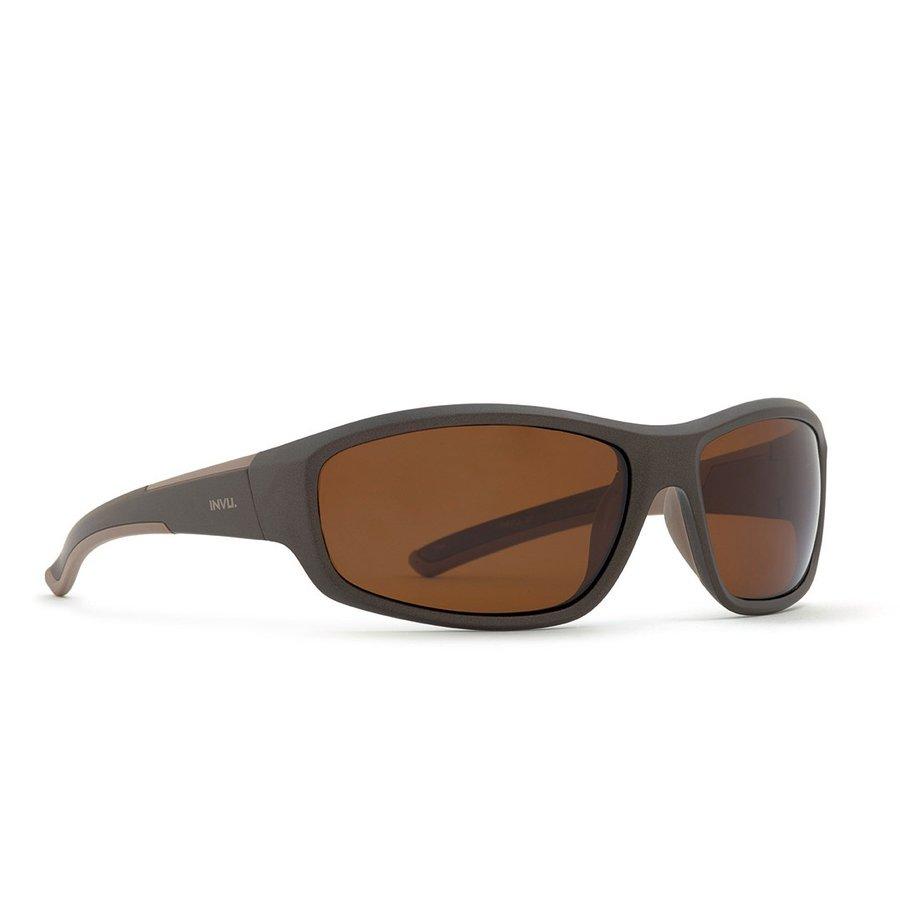 Ochelari de soare barbati ULTRAPOLARIZATI INVU A2707C Sport originali cu comanda online