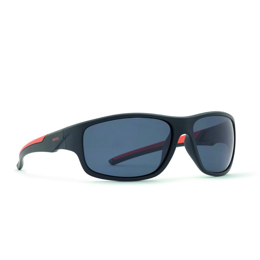 Ochelari de soare barbati ULTRAPOLARIZATI INVU A2708B Sport originali cu comanda online