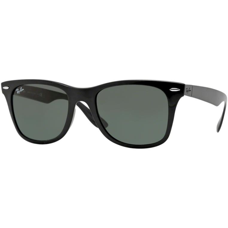 Ochelari de soare barbati Wayfarer Liteforce Ray-Ban RB4195 601/71 Rectangulari originali cu comanda online