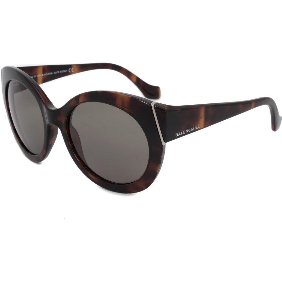 Ochelari de soare dama Balenciaga BA0091 52N Ovali originali cu comanda online