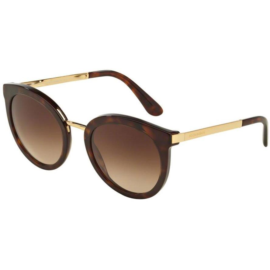 Ochelari de soare dama Dolce & Gabbana DG4268 502/13 Rotunzi originali cu comanda online