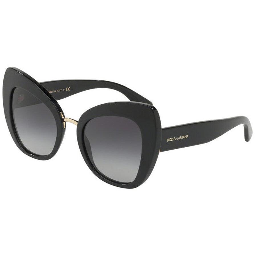 Ochelari de soare dama Dolce & Gabbana DG4319 501/8G Butterfly originali cu comanda online