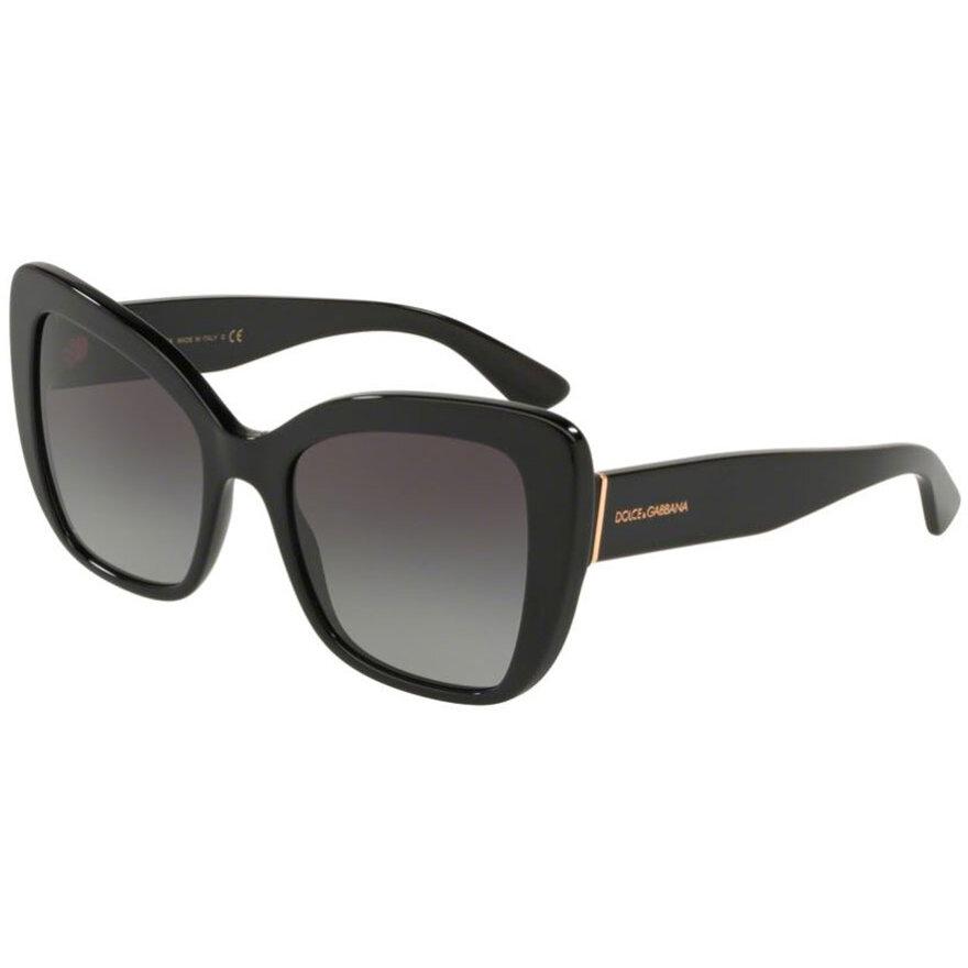 Ochelari de soare dama Dolce & Gabbana DG4348 501/8G Fluture originali cu comanda online