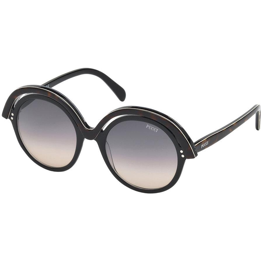 Ochelari de soare dama Emilio Pucci EP0065 01B Rotunzi originali cu comanda online