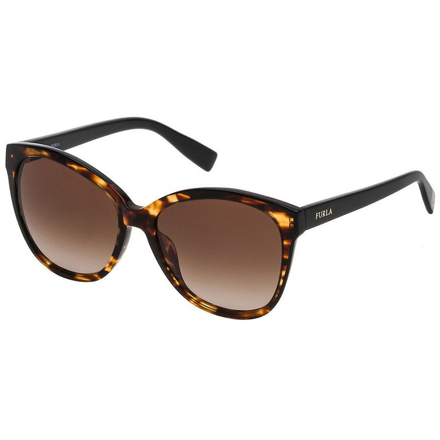 Ochelari de soare dama Furla SFU136 0743 Fluture originali cu comanda online