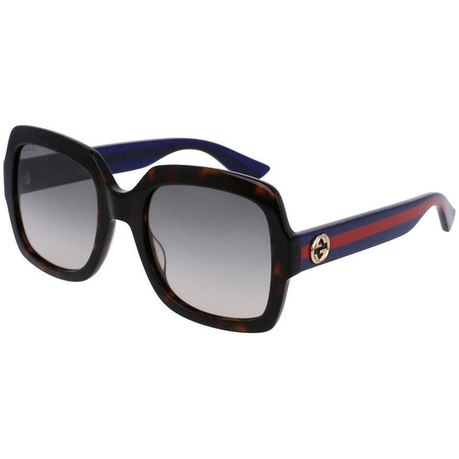 Ochelari de soare dama Gucci GG0036S 004 Patrati originali cu comanda online