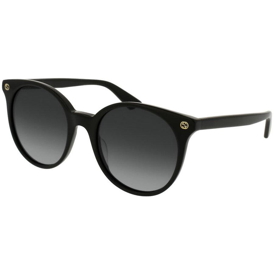 Ochelari de soare dama Gucci GG0091S 001 Rotunzi originali cu comanda online