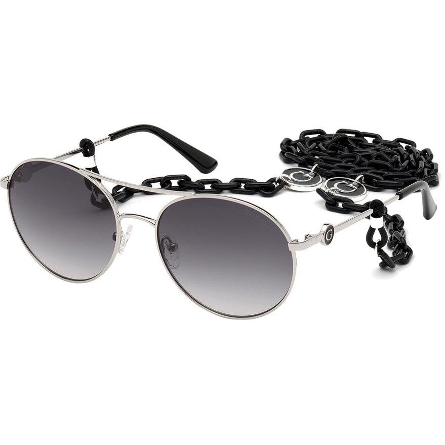 Ochelari de soare dama Guess GU7640 10B Rotunzi originali cu comanda online