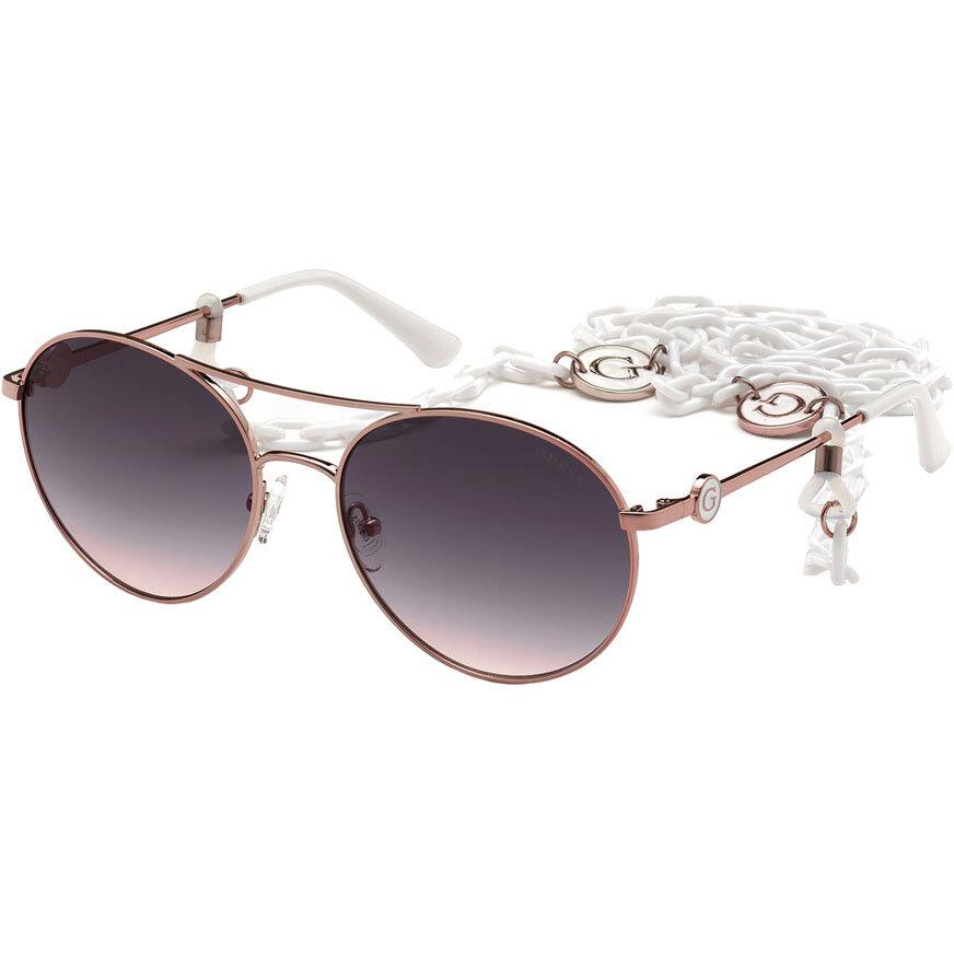 Ochelari de soare dama Guess GU7640 78Z Rotunzi originali cu comanda online