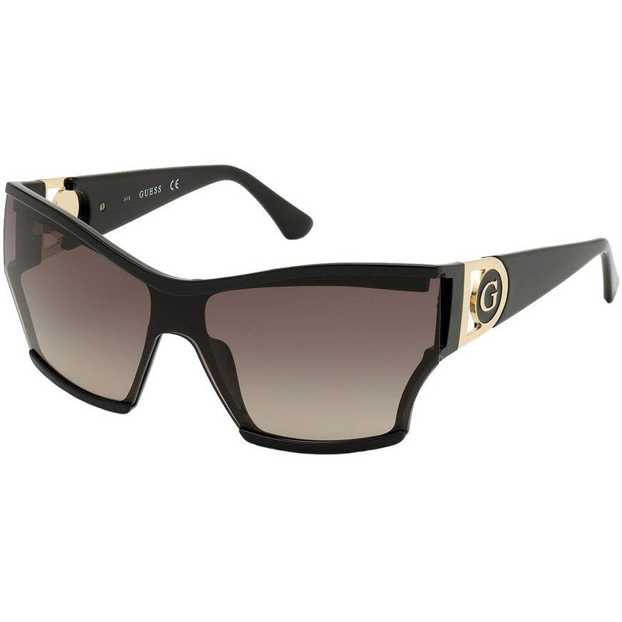 Ochelari de soare dama Guess GU7650 01F Supradimensionati originali cu comanda online