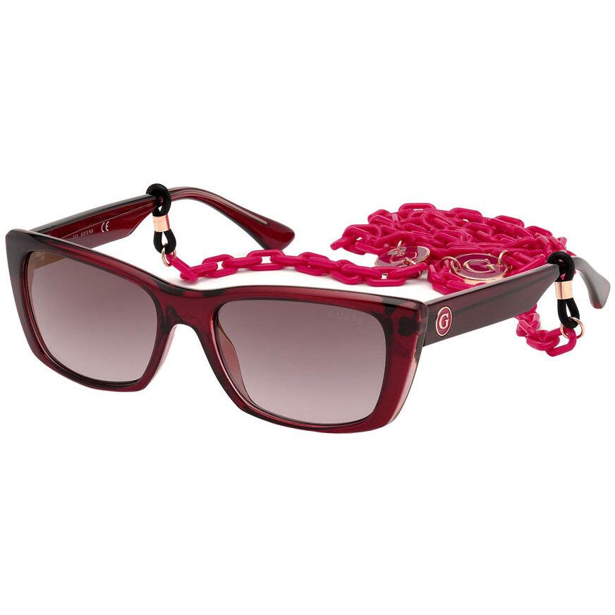 Ochelari de soare dama Guess GU7652 69T Rectangulari originali cu comanda online