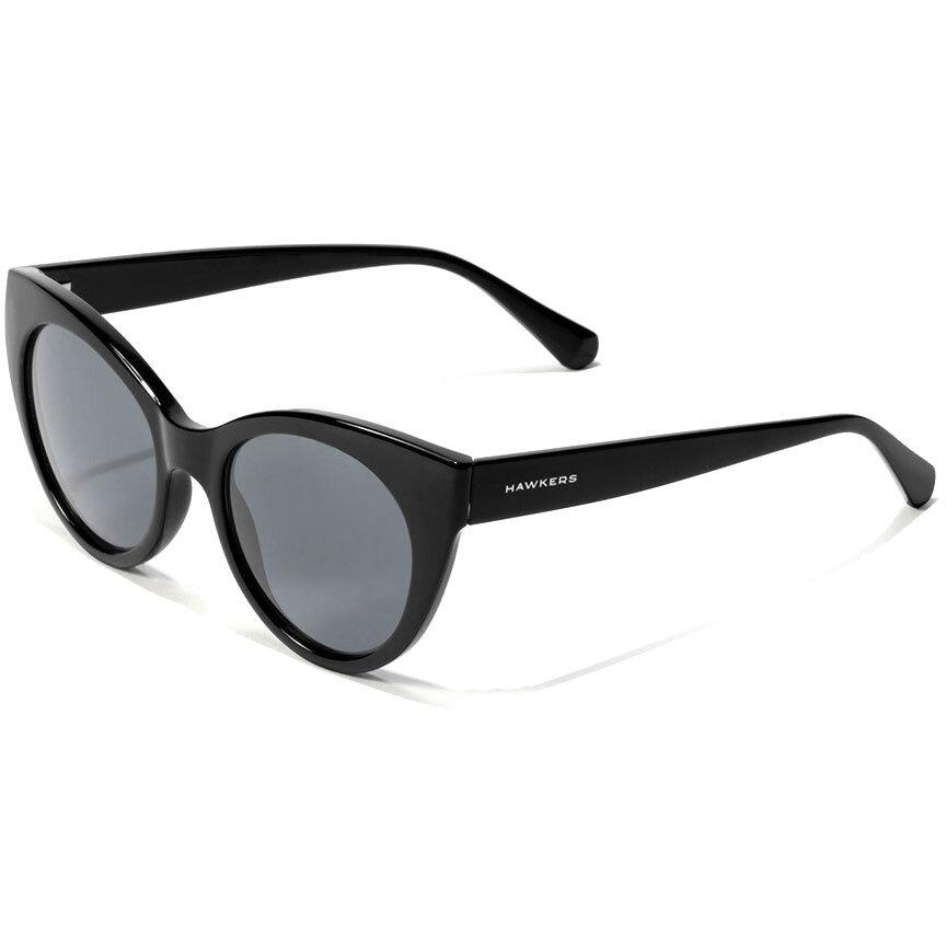 Ochelari de soare dama Hawkers High Fashion Black Divine 110030 Ochi de pisica originali cu comanda online