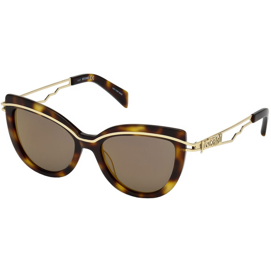 Ochelari de soare dama Just Cavalli JC832S 52G Ochi de pisica originali cu comanda online