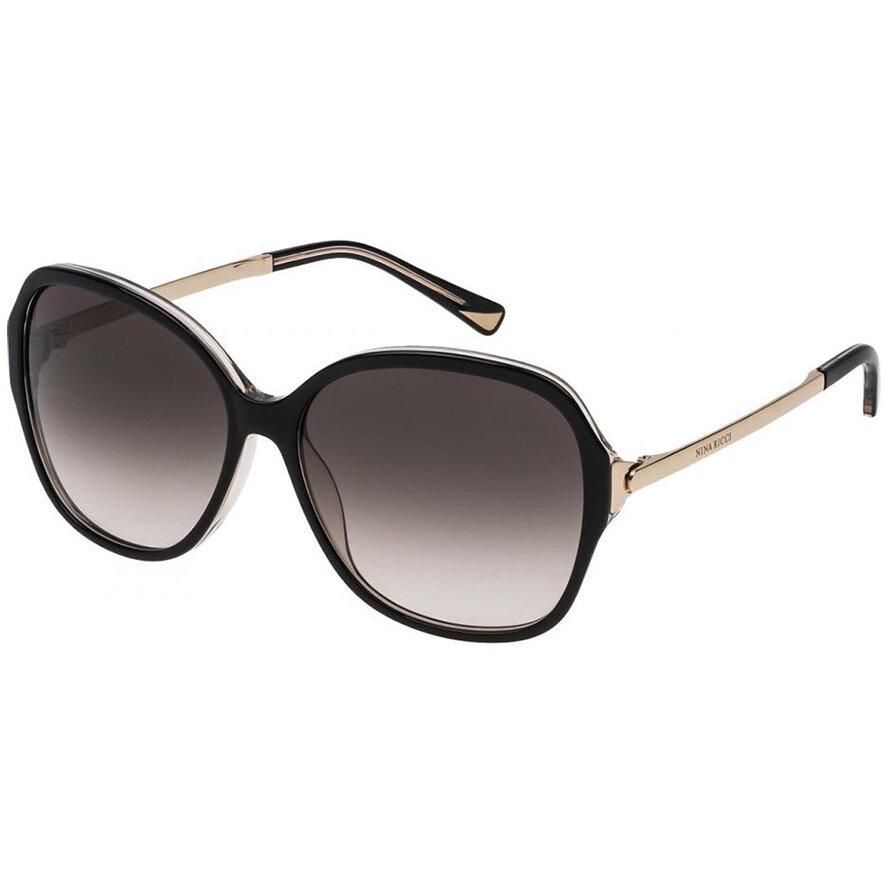 Ochelari de soare dama Nina Ricci SNR052 09LM Supradimensionati originali cu comanda online