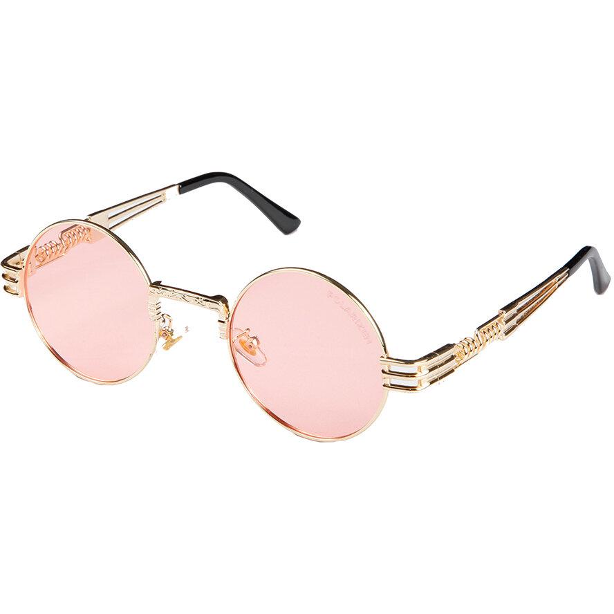 Ochelari de soare dama Polarizen 2680 Pink Rotunzi originali cu comanda online