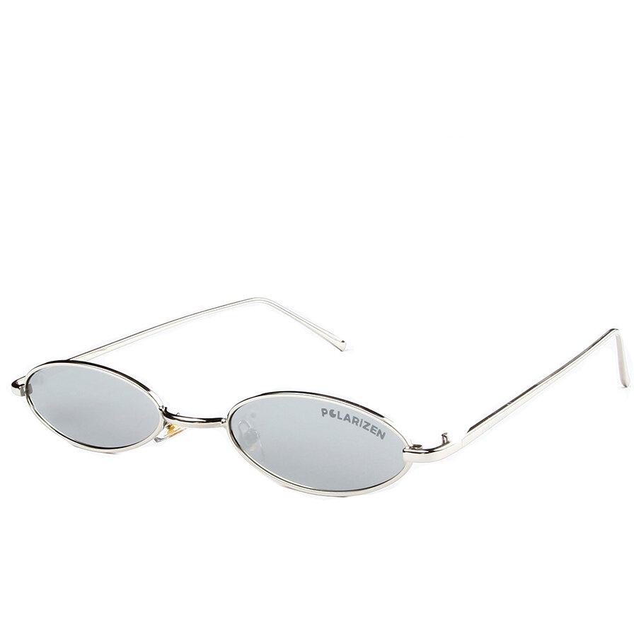 Ochelari de soare dama Polarizen 2696 Argintiu Ovali originali cu comanda online