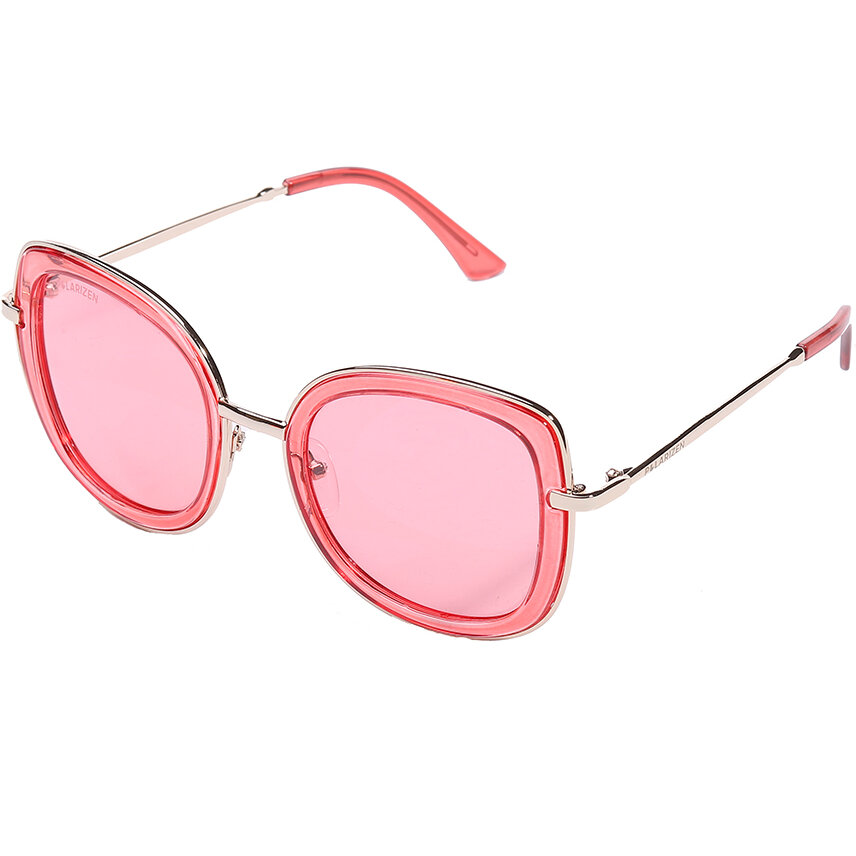 Ochelari de soare dama Polarizen 99068 Red Supradimensionati originali cu comanda online