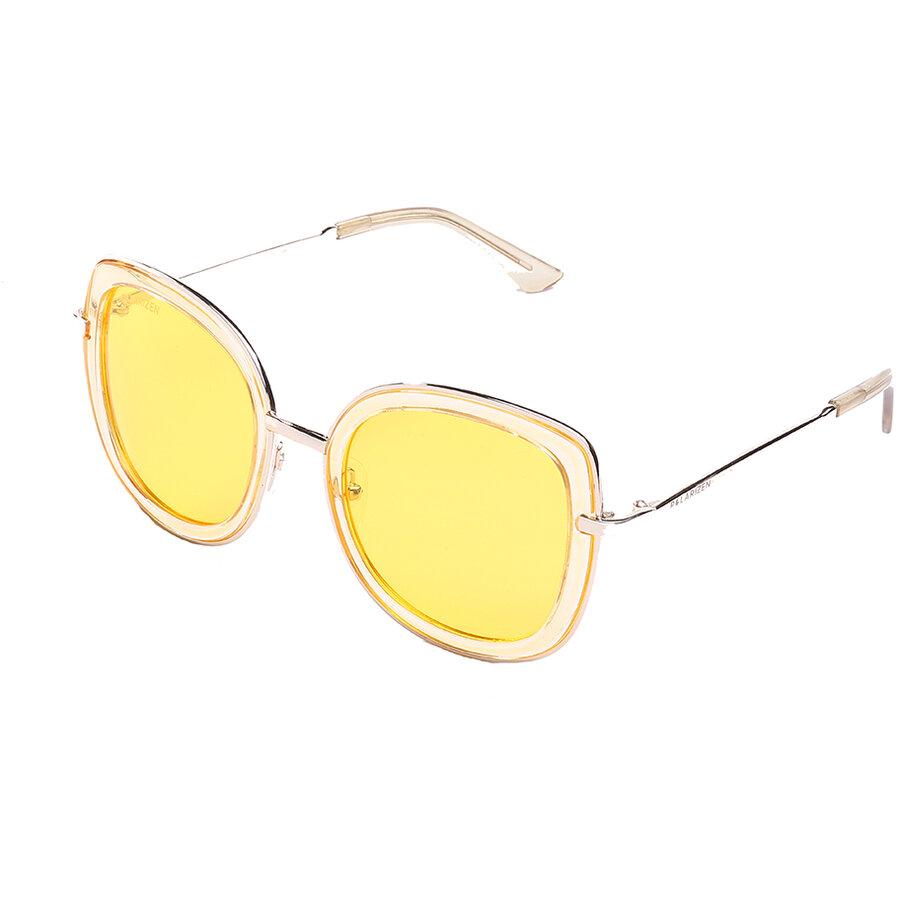 Ochelari de soare dama Polarizen 99068 Yellow Supradimensionati originali cu comanda online