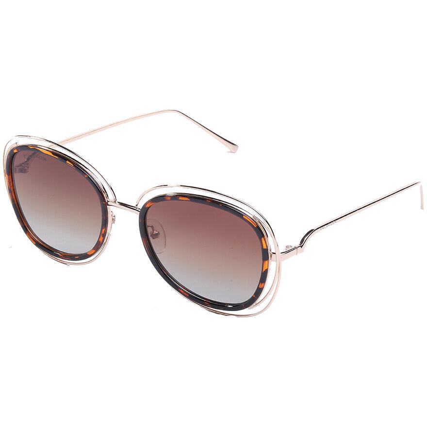 Ochelari de soare dama Polarizen 99091 Brown Supradimensionati originali cu comanda online
