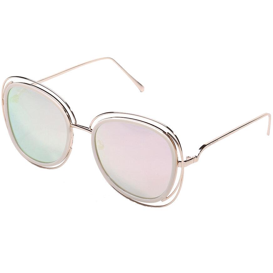 Ochelari de soare dama Polarizen 99091 Pink Supradimensionati originali cu comanda online