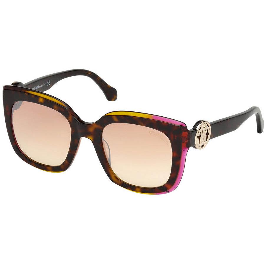 Ochelari de soare dama Roberto Cavalli RC1069 56U Patrati originali cu comanda online