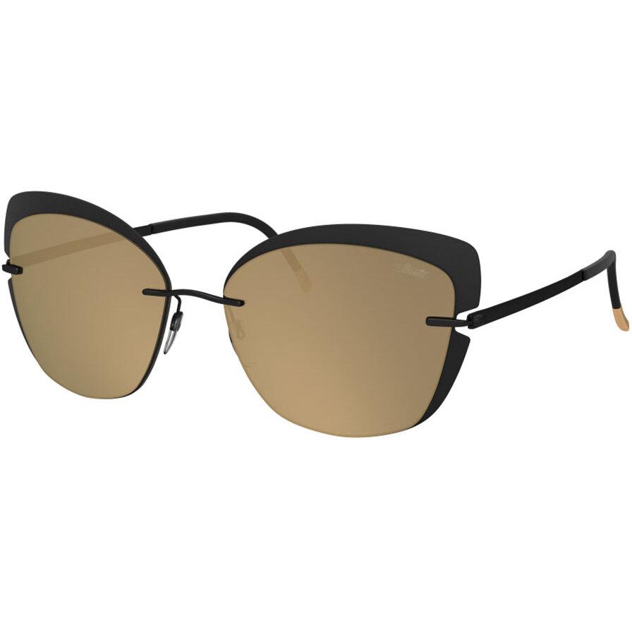 Ochelari de soare dama Silhouette 8166/75 9040 Ochi de pisica originali cu comanda online