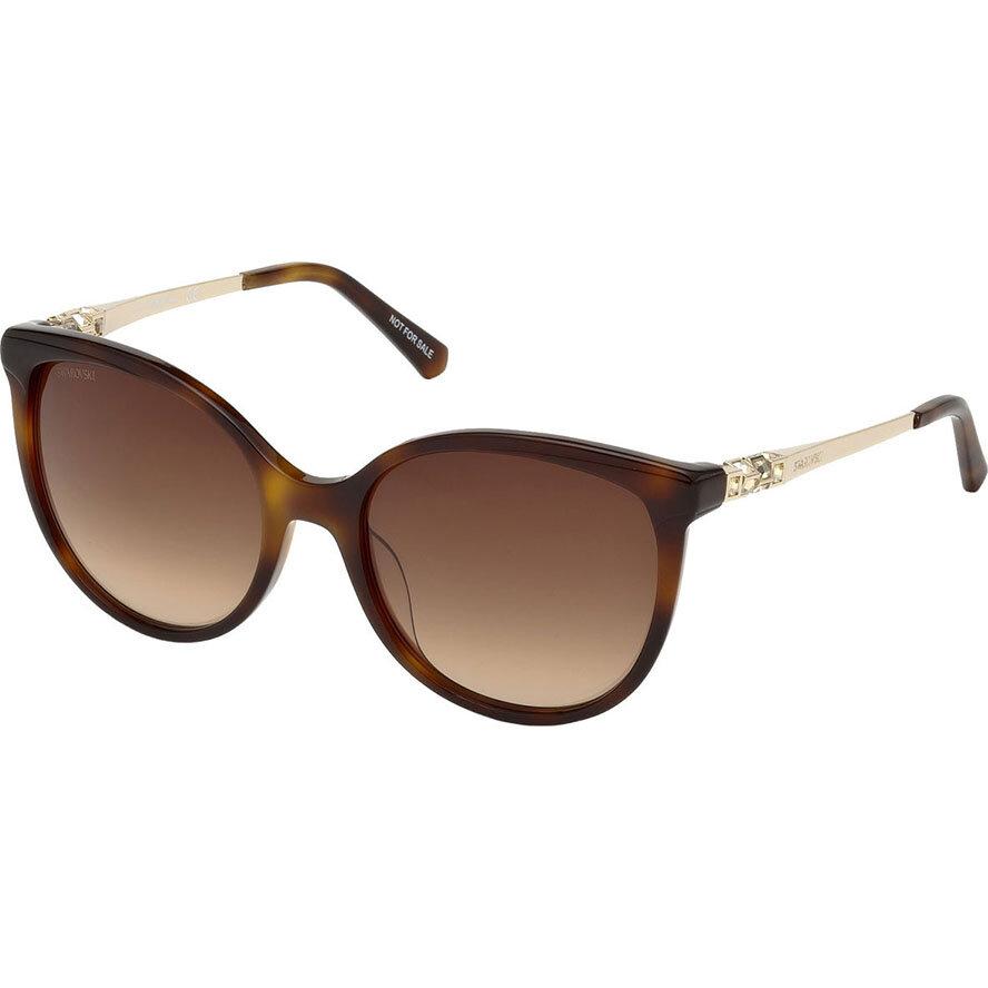 Ochelari de soare dama Swarovski SK0155 52F Rotunzi originali cu comanda online