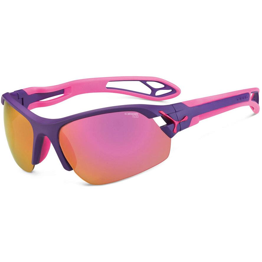Ochelari de soare sport dama Cebe CBSPRING4 SPRING MATT PURPLE PINK 1500 Grey PC AF Pink Flash Mirror Sport originali cu comanda online
