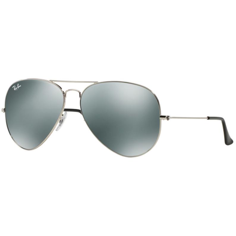 Ochelari de soare unisex Aviator Large Metal Ray-Ban RB3025 003/40 Pilot originali cu comanda online
