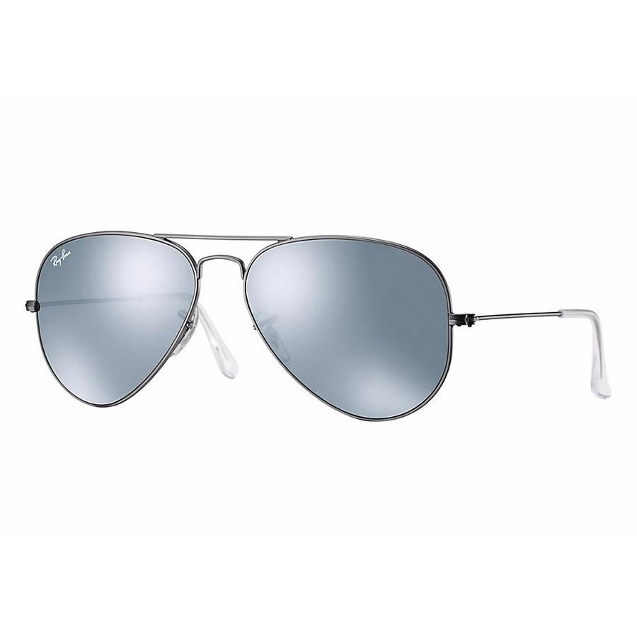 Ochelari de soare unisex Aviator Large Metal Ray-Ban RB3025 029/30 Pilot originali cu comanda online