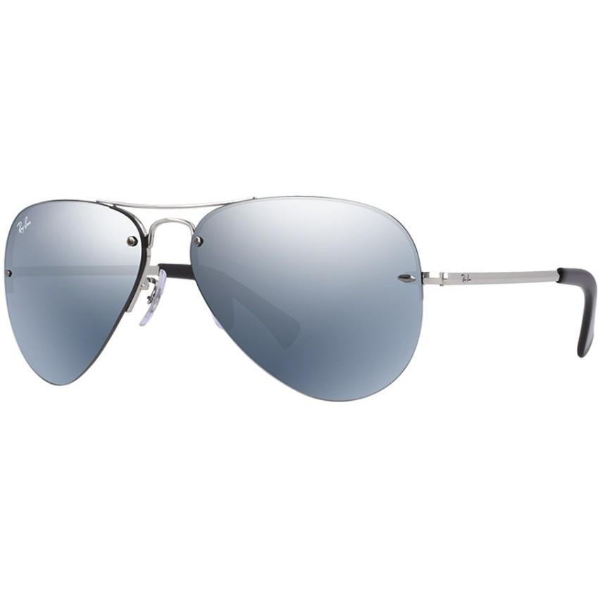 Ochelari de soare unisex Aviator Large Metal Ray-Ban RB3449 003/30 Pilot originali cu comanda online