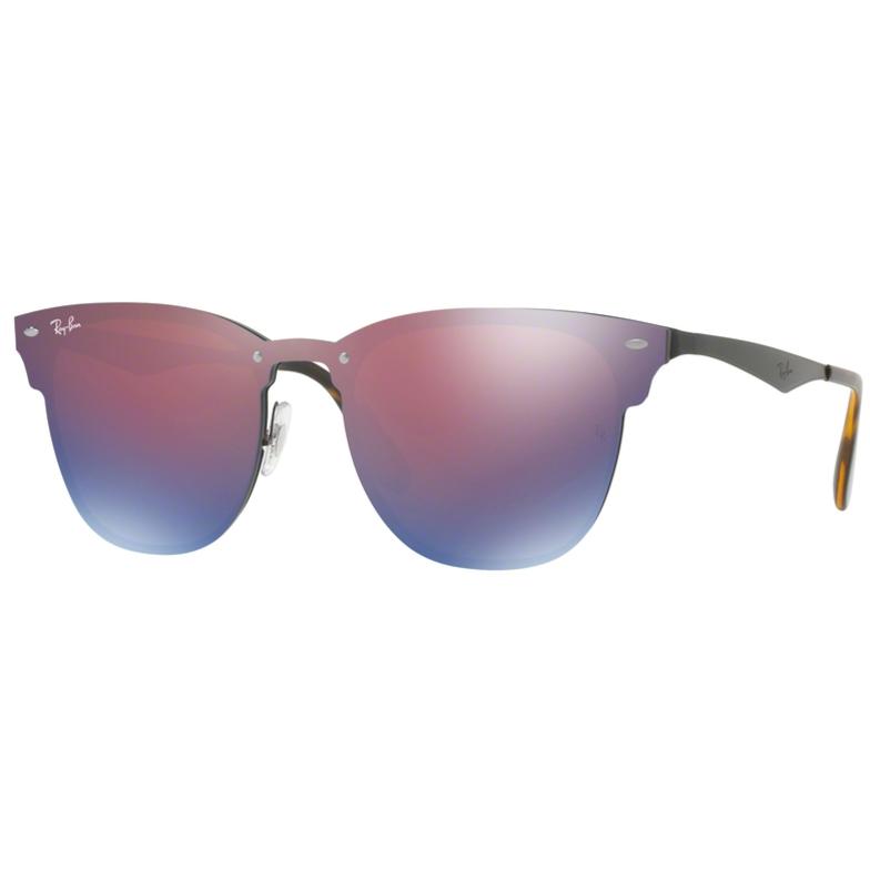 Ochelari de soare unisex Blaze Clubmaster Ray-Ban RB3576N 153/7V Patrati originali cu comanda online