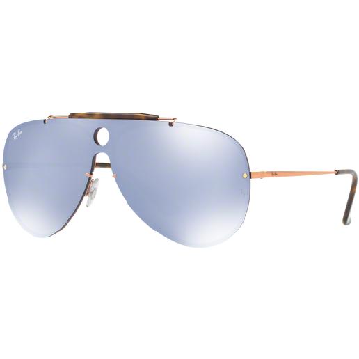 Ochelari de soare unisex Blaze Shooter Ray-Ban RB3581N 90351U Pilot originali cu comanda online