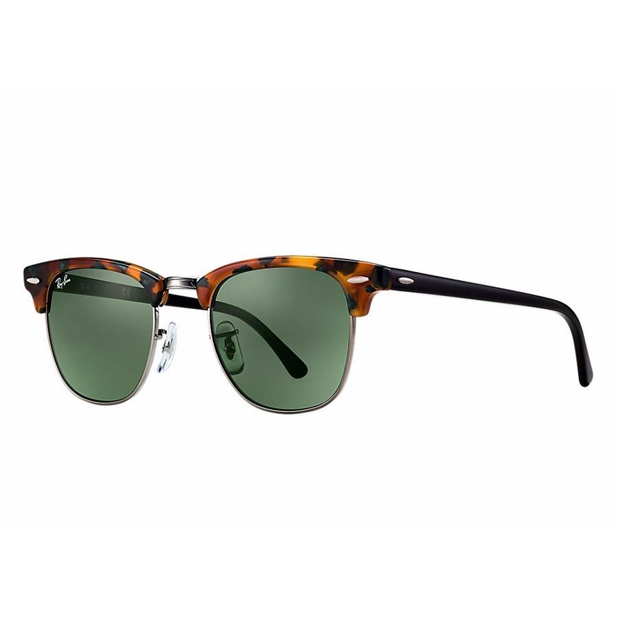 Ochelari de soare unisex Clubmaster Ray-Ban RB3016 11594E Browline originali cu comanda online