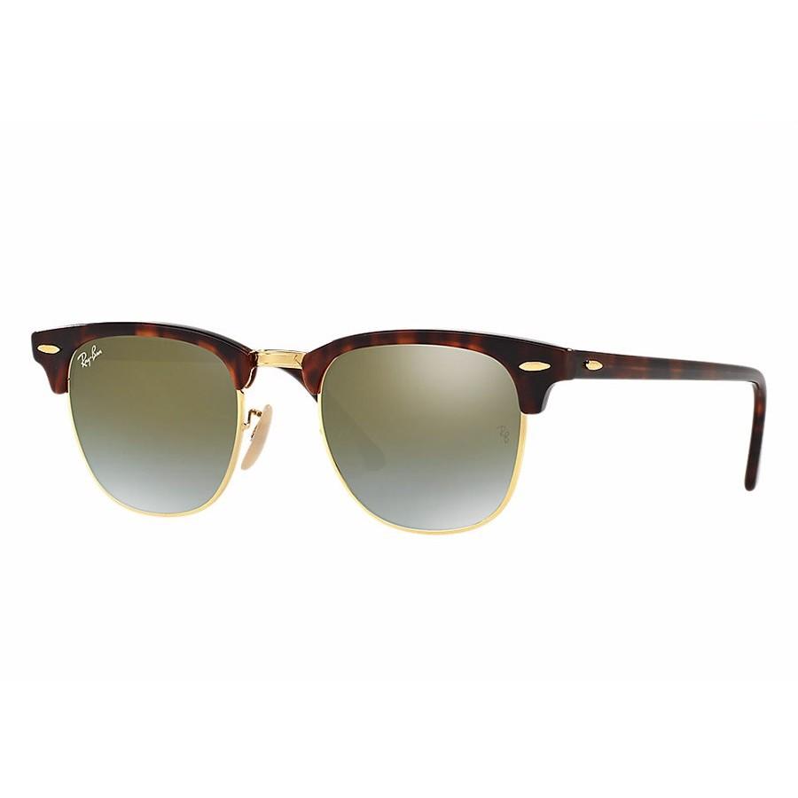 Ochelari de soare unisex Clubmaster Ray-Ban RB3016 990/9J Browline originali cu comanda online