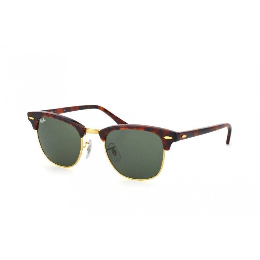 Ochelari de soare unisex Clubmaster Ray-Ban RB3016 W0366 Browline originali cu comanda online