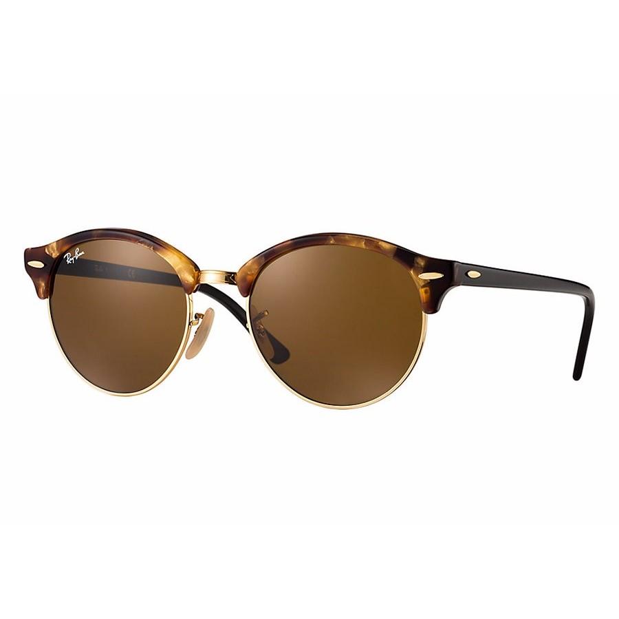 Ochelari de soare unisex Clubround Ray-Ban RB4246 1160 Browline originali cu comanda online