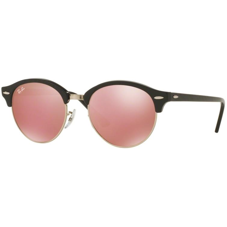 Ochelari de soare unisex Clubround Ray-Ban RB4246 1197Z2 Browline originali cu comanda online