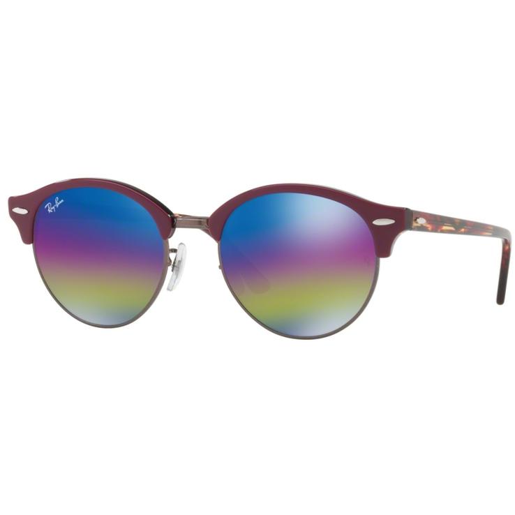 Ochelari de soare unisex Clubround Ray-Ban RB4246 1222C2 Browline originali cu comanda online