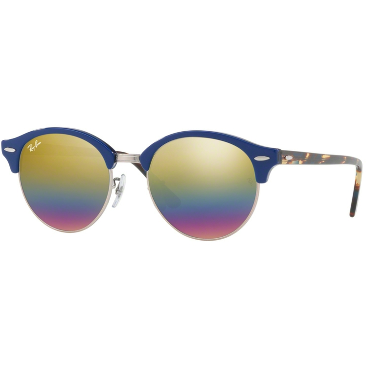 Ochelari de soare unisex Clubround Ray-Ban RB4246 1223C4 Browline originali cu comanda online