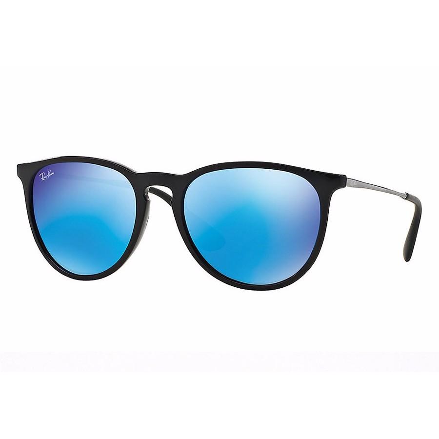 Ochelari de soare unisex Erika Ray-Ban RB4171 601/55 Rotunzi originali cu comanda online