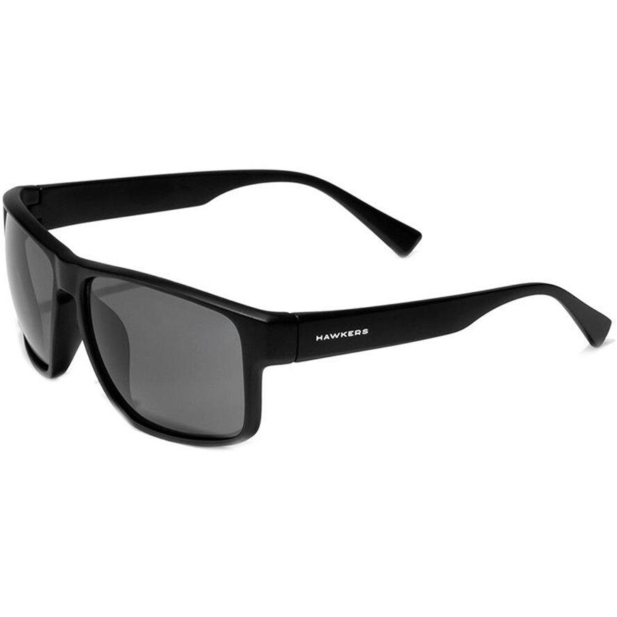 Ochelari de soare unisex Hawkers 110001 Black Dark Faster Rectangulari originali cu comanda online