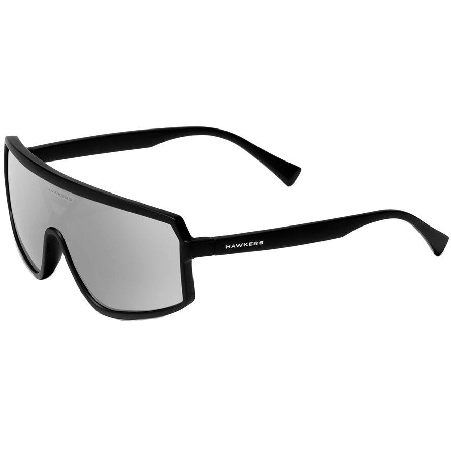 Ochelari de soare unisex Hawkers 110019 Black Chrome Superior Rectangulari originali cu comanda online