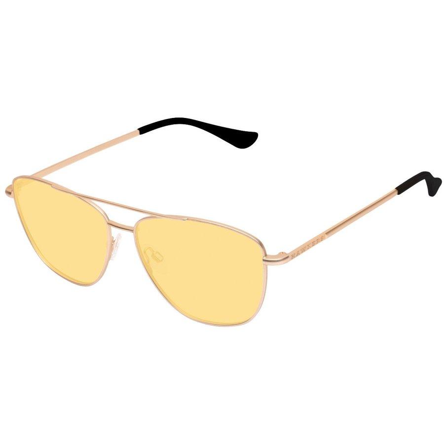 Ochelari de soare unisex Hawkers A08 Gold Yellow Lax Pilot originali cu comanda online